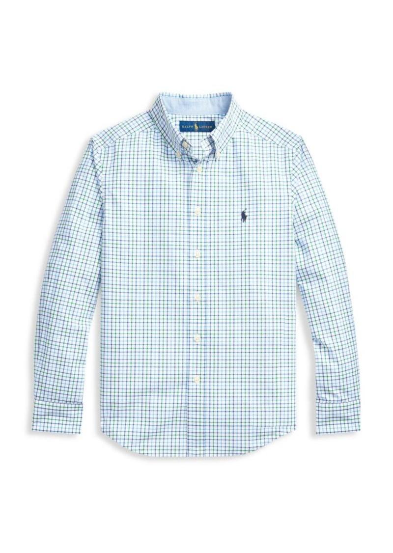 Ralph Lauren Little Boy's & Boy's Checker Shirt