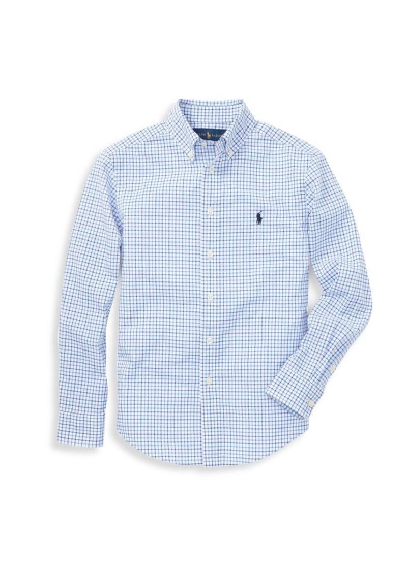 Ralph Lauren Boy's Cotton Poplin Sport Shirt