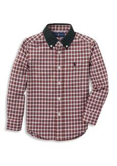 Ralph Lauren Boy's Classic Cotton Button-Down Shirt