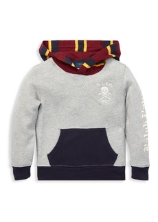 Ralph Lauren Little Boy's & Boy's Colorblock Fleece Hoodie