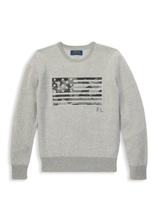 Ralph Lauren Boy's Cotton Graphic Knit