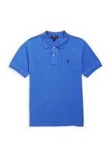 Ralph Lauren Little Boy's & Boy's Cotton Mesh Polo Shirt