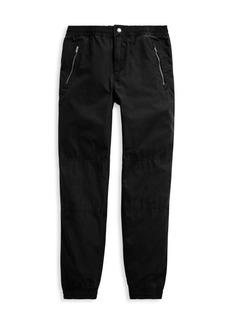 Ralph Lauren Boy's Cotton Poplin Jogger Pants