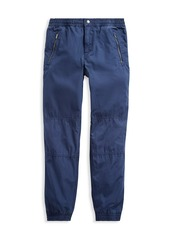 Ralph Lauren Boy's Cotton Poplin Jogger Pants