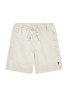 Ralph Lauren Boy's Drawstring Twill Rugby Shorts