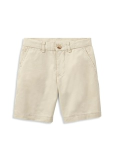 Ralph Lauren Boy's Flat Front Chino Shorts