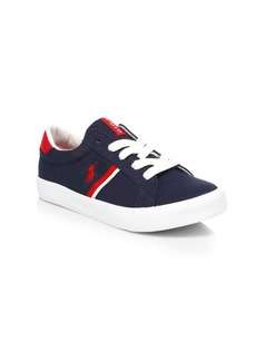 Ralph Lauren Boy's Gaffney Canvas Sneakers