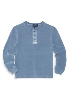 Ralph Lauren Boy's Knitted Basic Cotton Sweater