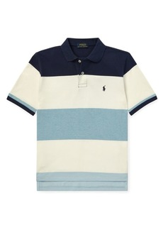 Ralph Lauren Boy's Mesh Short-Sleeve Polo Shirt