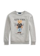 Ralph Lauren Boy's New York Bear Sweatshirt