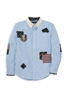 Ralph Lauren Boy's Patchwork Cotton Oxford Shirt