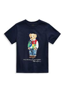 Ralph Lauren Boy's Polo Bear Graphic T-Shirt