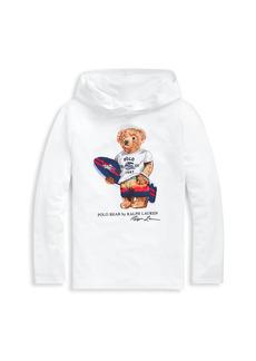 Ralph Lauren Boy's Polo Bear Hoodie Cover-Up