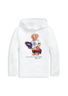 Ralph Lauren Boy's Polo Bear Hoodie Coverup