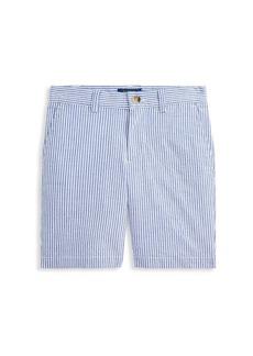 Ralph Lauren Little Boy's & Boy's Seersucker Shorts