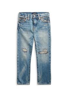 Ralph Lauren Boy's Sullivan Distressed Slim Jeans