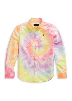 Ralph Lauren Boy's Tie-Dye Shirt