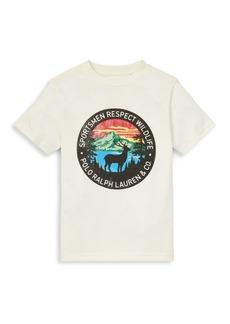 Ralph Lauren Boy's Vintage Graphic T-Shirt