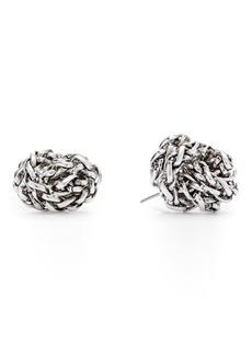 Ralph Lauren Braided Knot Earrings