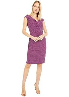 Ralph Lauren Brandie Cap Sleeve Day Dress