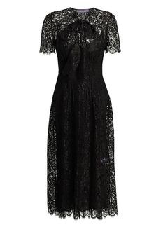 Ralph Lauren Bridget Floral Lace Dress