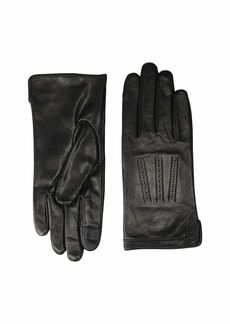 Ralph Lauren Brogue Leather Gloves