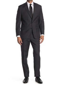 Ralph Lauren Brushed Charcoal Two Button Notch Lapel Suit
