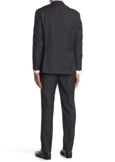 Ralph Lauren Brushed Charcoal Two Button Notch Lapel Suit