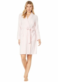 Ralph Lauren Brushed Knit Short Shawl Collar Robe