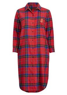 Ralph Lauren Brushed Twill Sleep Shirt