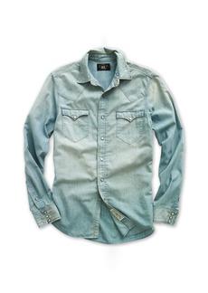 Ralph Lauren Buffalo Chambray Western Shirt