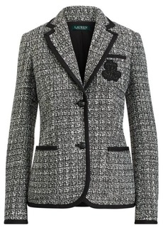 Ralph Lauren Bullion Crest Tweed Jacket