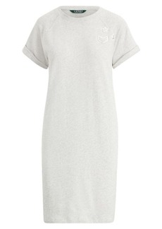 Ralph Lauren Bullion-Patch Cotton Dress