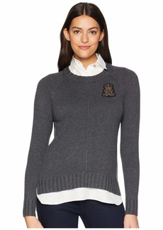 Ralph Lauren Bullion-Patch Layered Shirt