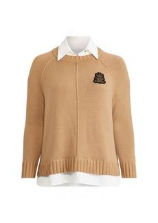 Ralph Lauren Bullion-Patch Layered Shirt