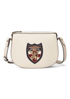 Ralph Lauren Bullion-Patch Leather Mini Bag