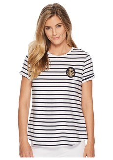 Ralph Lauren Bullion-Patch Striped T-Shirt