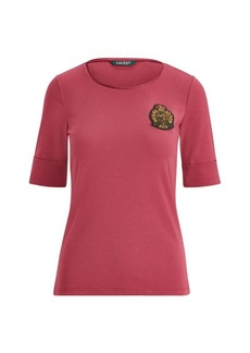Ralph Lauren Bullion Stretch Cotton Top