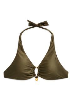 Ralph Lauren Bungee Halter Bikini Top
