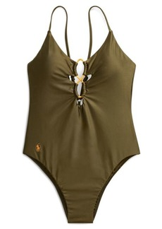 Ralph Lauren Bungee One-Piece Swimsuit