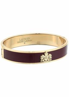 Ralph Lauren Burgundy Bangle Bracelet