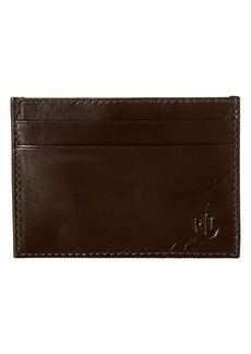 Ralph Lauren Burnished Card Case