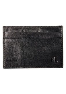 Ralph Lauren Burnished Card Case w/ Money Clip