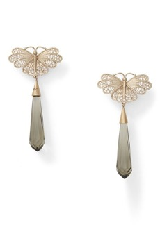 Ralph Lauren Butterfly Briolette Earrings