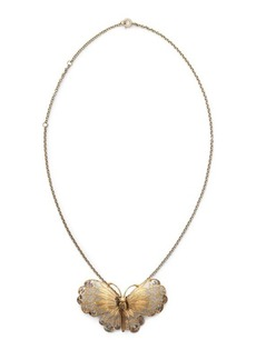 Ralph Lauren Butterfly Brooch Necklace