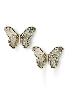 Ralph Lauren Butterfly Stud Earrings