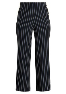 Ralph Lauren Button-Trim Jersey Pant
