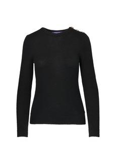 Ralph Lauren Buttoned Cashmere Sweater
