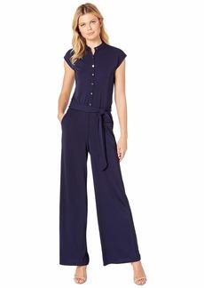 Ralph Lauren Buttoned Jersey Jumpsuit