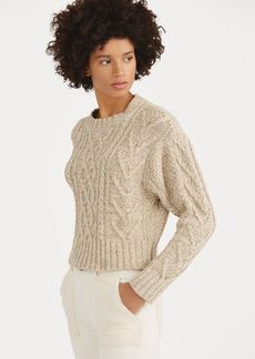 Ralph Lauren Cable Cotton-Blend Sweater